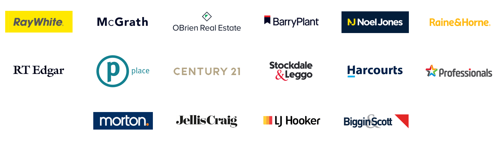 Homely's industry partners